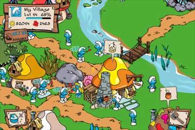 Взломанная Smurfs Village 0.5.2а читы, мод получи ягоды скачать бери андроид